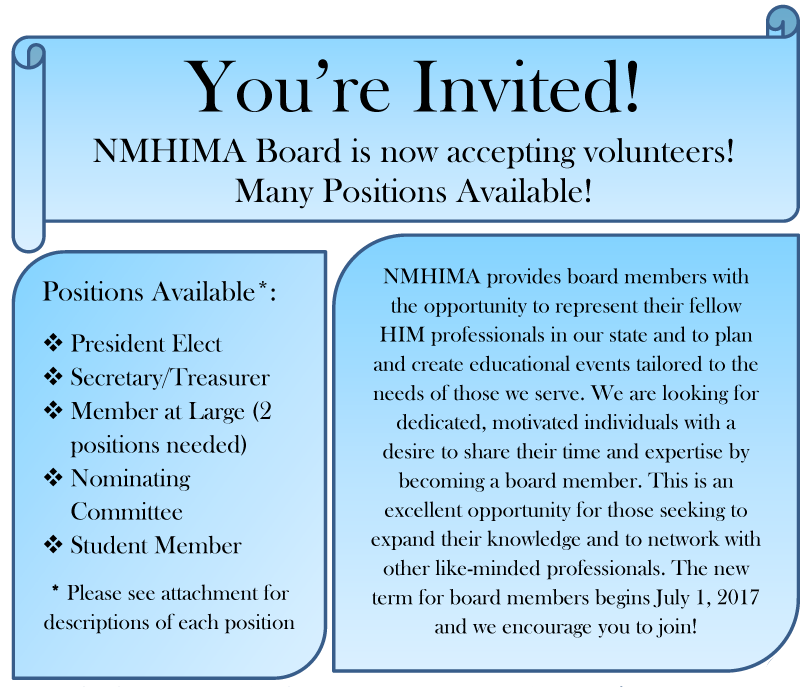 nmhima volunteer information picture and link